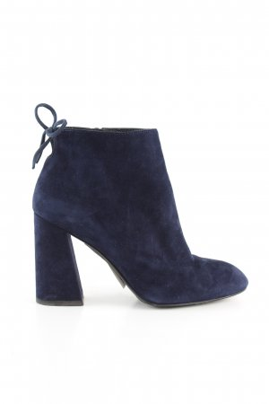 Stuart weitzman Booties blau Business-Look