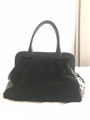 Stuart Weitzman Designer Tasche Leder/ Fell Mix