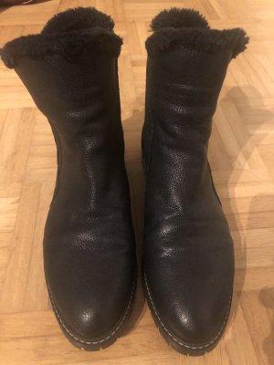 Stuart Weitzman Faux- Fur Lined Ankle Boots US 9