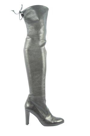 Stuart weitzman Wysokie buty na obcasie czarny Elegancki