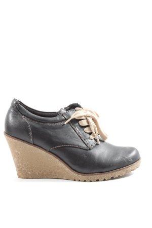 Stuart weitzman High Heels schwarz-braun Casual-Look