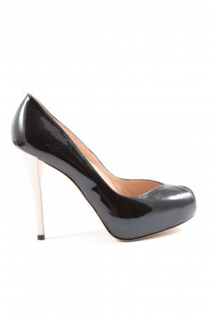 Stuart weitzman High Heels schwarz-weiß Casual-Look