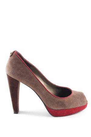 Stuart weitzman High Heels braun-rot Casual-Look
