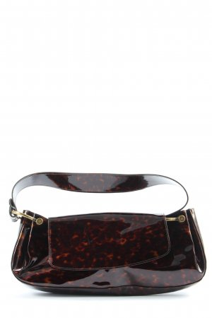 Stuart weitzman Mini sac noir-rouge imprimé allover élégant