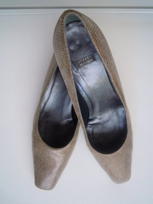Stuart weitzman Loafers grey brown leather
