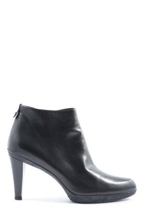 Stuart weitzman Reißverschluss-Stiefeletten schwarz Casual-Look