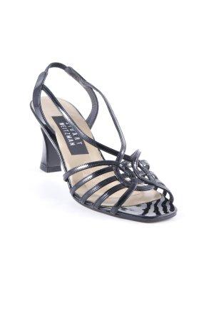 Stuart weitzman Riemchen-Sandalen schwarz Elegant