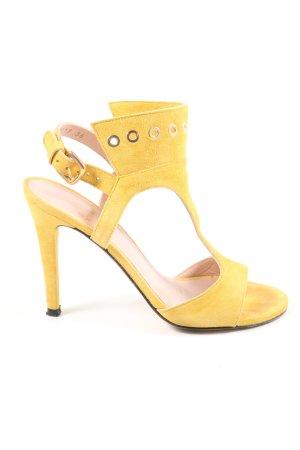 Stuart weitzman Riemchen-Sandaletten blassgelb Elegant