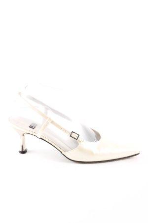 Stuart weitzman Riemchen-Sandaletten creme Elegant