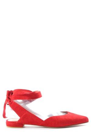 Stuart weitzman Ballerina aperta sul tallone rosso stile casual