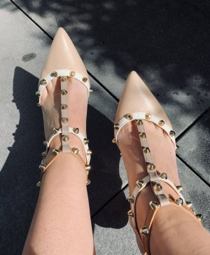 Studded Pumps Leder