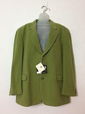 Blazer in lana verde-grigio-verde prato Lana vergine