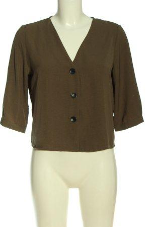 Studio Blusa-camisa marrón look casual