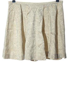 Studio Iko Flared Skirt natural white-light grey casual look