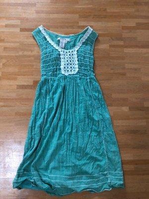 Studio M Blogger Sommer Kleid Stickerei Hippie XS S 34 36