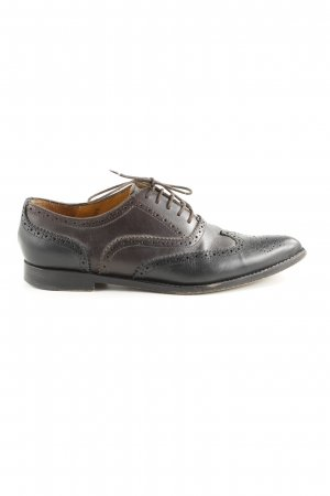 Studio pollini Derby schwarz-braun Business-Look