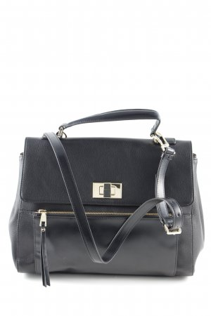 Studio pollini Henkeltasche schwarz Business-Look