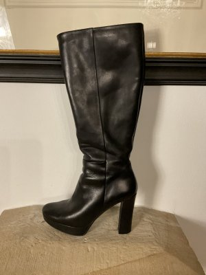 Studio pollini High Heel Boots black-grey leather