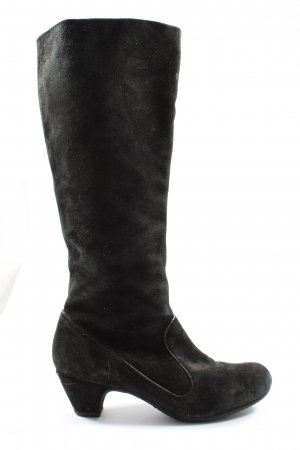 Studio pollini Wide Calf Boots black elegant