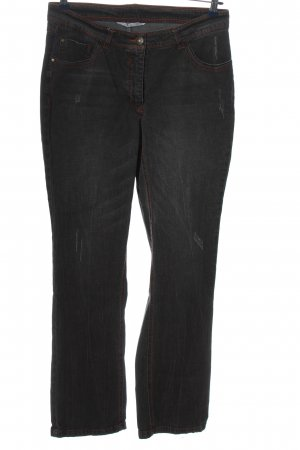Studio Untold High Waist Trousers black casual look