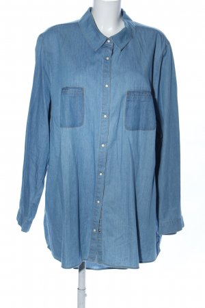Studio Untold Denim Shirt blue casual look