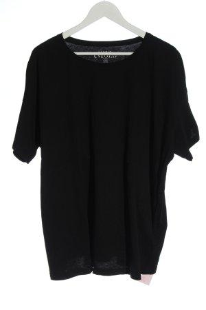 Studio Untold T-shirt noir style décontracté