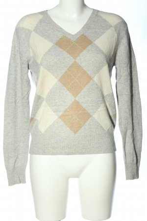 Studio Cashmere Jumper graphic pattern casual look