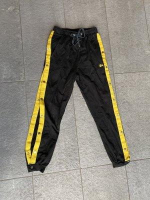 Stüssy Sweat Pants black-yellow