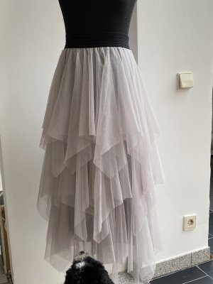 Broomstick Skirt light grey