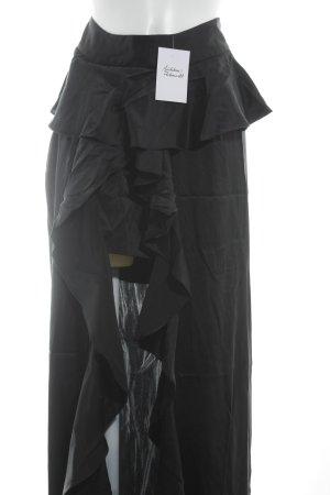 Jupe superposée noir élégant