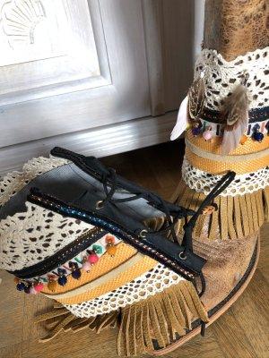 Stulpen für Stiefel Boots Gamaschen Boho Ethno