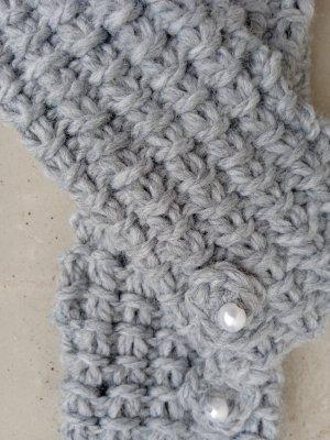 Handmade Legwarmers light grey