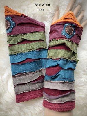 Handmade Puño multicolor Algodón