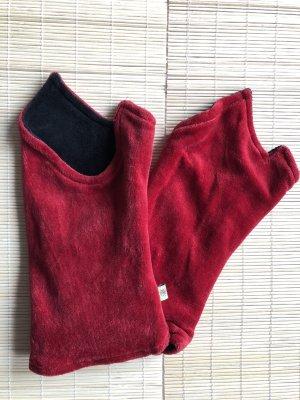 Scaldamuscoli rosso mattone-nero