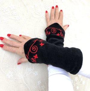 Scaldamuscoli nero-rosso