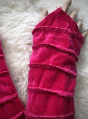 Handmade Puño rosa Terciopelo