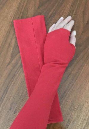 Scaldamuscoli rosso Tessuto misto