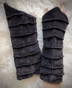 Handmade Puño marrón-negro Terciopelo
