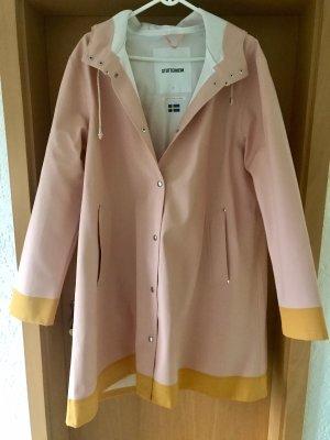 Manteau de pluie rosé-jaune