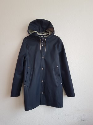 STUTTERHEIM Heavy Raincoat dark blue-blue polyurethane