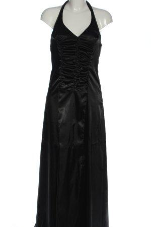 Style Suknia wieczorowa czarny Z połyskiem