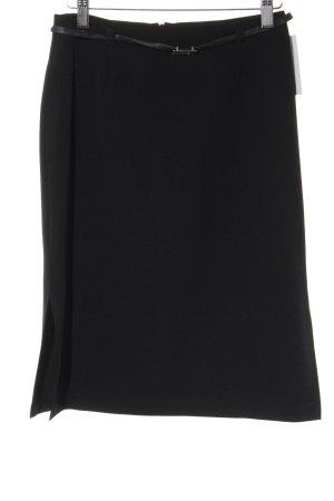 Style Bleistiftrock schwarz Elegant