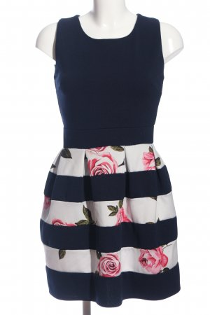 Style boom Abendkleid Blumenmuster Elegant