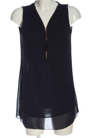 Style boom ärmellose Bluse