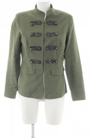 Style & Butler Militair jack khaki casual uitstraling