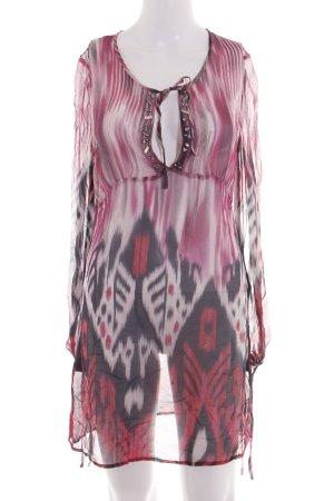 Style & Butler Tunikakleid abstraktes Muster Casual-Look