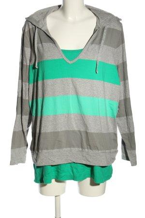 Style & co Camicia con cappuccio puntinato stile casual