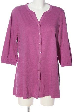Style Koszulowa bluzka różowy W stylu casual