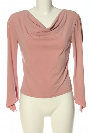 Style Bluzka z długim rękawem różowy W stylu casual