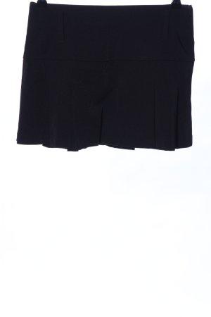 Style Minirock schwarz Casual-Look